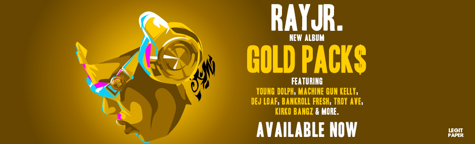 Ray Jr. New Album, Gold Packs